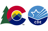 State of Colorado and Colorado Department of Education logo