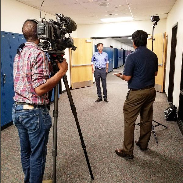 Doherty High senior Zachary Lacross talks to 9NEWS about his academic experience as a military dependent.