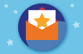 Star graphic to represent Colorado Teacher of the Year program