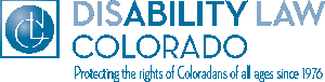 Disability Law Colorado Logo – protecting the rights of Coloradans of all ages since 1976
