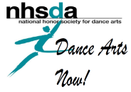 National Honor Society for Dance Arts logo