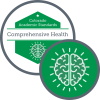 Graphic for academic standards for comprehensive health