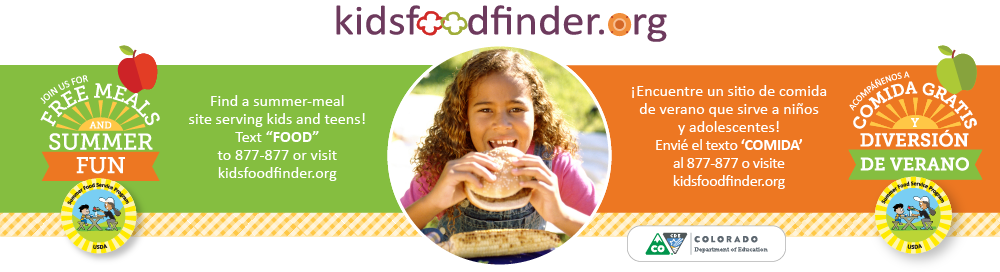 Kids Food Finder
