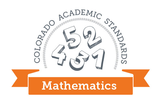 Colorado Academic Standards Mathematics Graphic