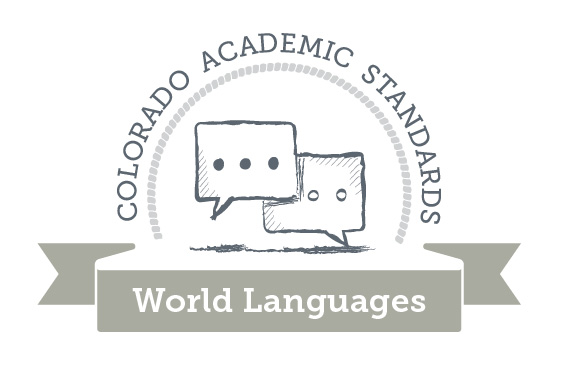 Colorado Academic Standards World Languages Graphic